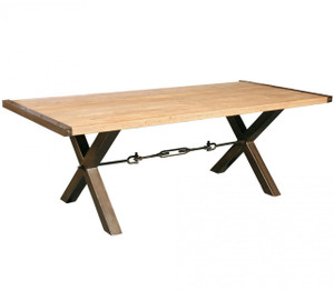Benchwright Reclaimed Wood Dining Table