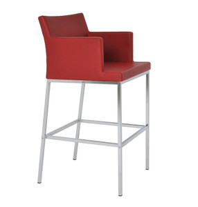 Soho Chrome Bar Stool