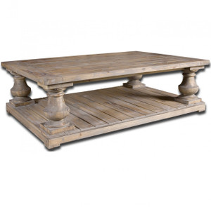 Salvaged Wood Rustic Coffee Table 60""