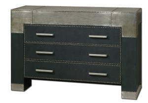Razi Industrial Metal 3 Drawer Chest