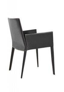 Tiffany Leather Dining Arm Chair