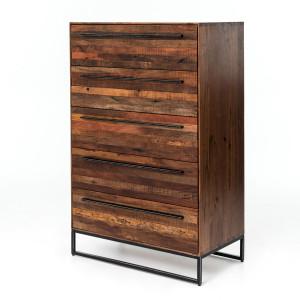 Emily Reclaimed Wood Tall Dresser