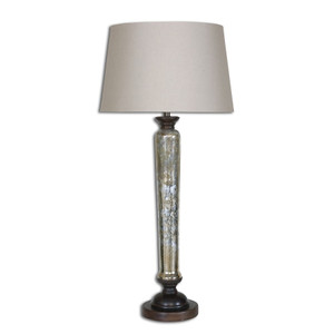 Cassini Antiqued Glass Table Lamp