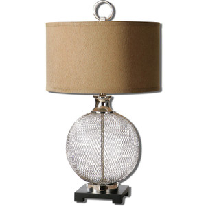 Catalan Metal Cage Table Lamp