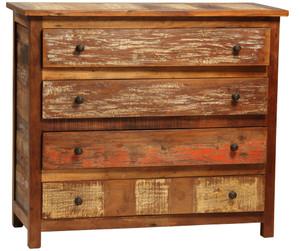 Shabby Chic 4 Drawer Dresser