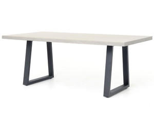 "Masonry Concrete 79"" Dining Table"