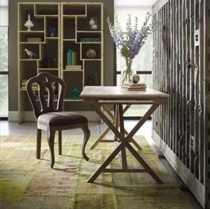 Palma Rustic Whitewash Reclaimed Wood Desk