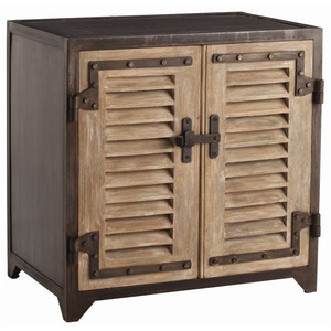 Lyon Industrial 2 Door Iron Cabinet