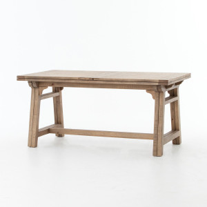 Spanish Reclaimed Wood Extension Pub Table