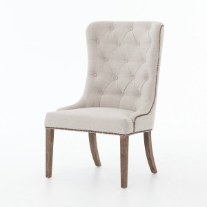 Elouise Upholstered Dining Chair with Nailheads