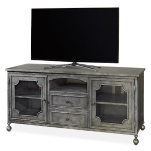 Maison French Industrial Metal Entertainment Console