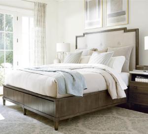 Playlist Queen Size Upholstered Platform Storage Bed