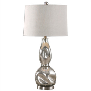 Dovera Mercury Glass Table Lamp