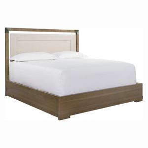 City Mid-Century Modern Queen Bed