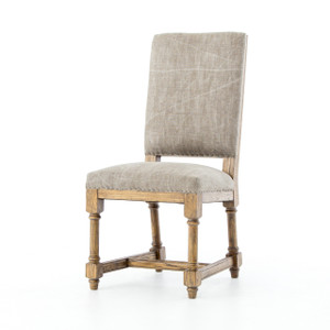 Ashton Jute Upholstered High-Back Dining Chair