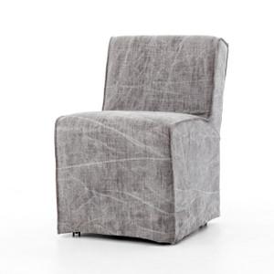 Seville French Modern Slipcovered Dining Chair - Jute