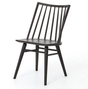 Windsor Dining Chair - Black Oak