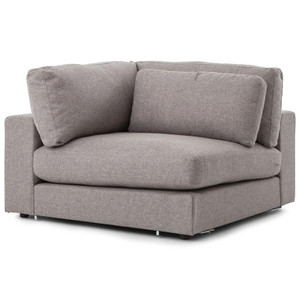 Bloor Modern Gray Sectional Corner Piece