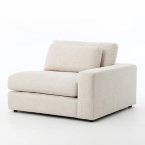 Bloor Beige Right Arm Facing Sectional