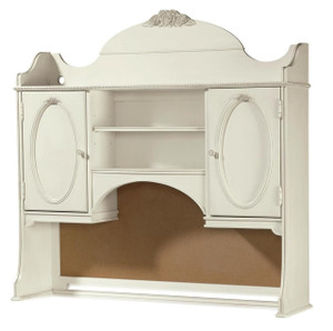 Rosalie Kids Desk Hutch - White