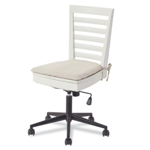 #MyRoom Modern Swivel Kids Desk Chair - White