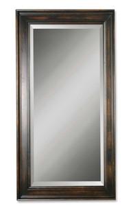 Uttermost Palmer Dark Wood Mirror