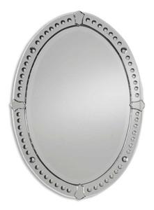 Uttermost Graziano Frameless Oval Mirror