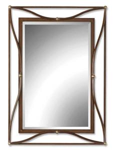 Uttermost Thierry Bronze Mirror