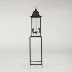 Steampunk Industrial Bird Cage Floor Lamp