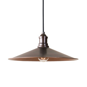 Barnstead 1-Light Copper Pendant Lamp