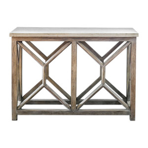Catali Stone Top Console Sofa Table