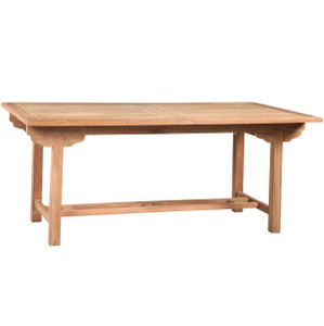 Teak Wood Outdoor Dining Table 70""