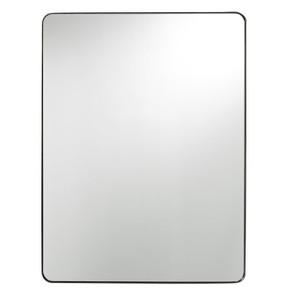 Modern Hollywood Regency Wall Mirror - Bronze