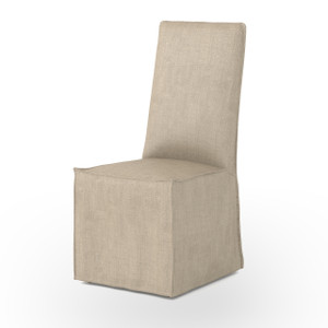 Downey Upholstered Skirted Dining Chair