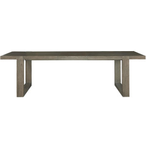 Portobello Modern Oak Extension Dining Table 84""
