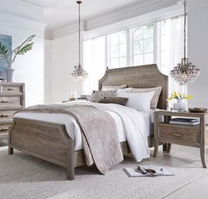 Amelie Solid Wood King Bed Frame