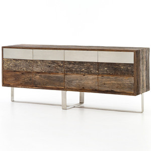 Scott Reclaimed Peroba Wood Sideboard