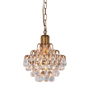 Amelie Crystal Chandelier 12""
