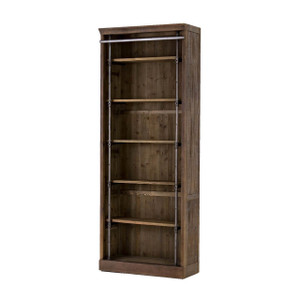 Ivy Umber Reclaimed Wood Bookcase
