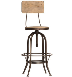 Industrial Gear Bar Stool