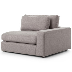 Bloor Modern Gray Right Arm Facing Sectional Chair
