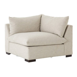 Grant Modern Oatmeal Sectional Corner Chair
