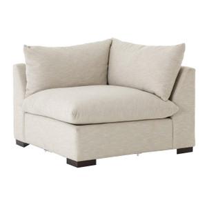 Grant Modern Oatmeal Sectional Corner Chair