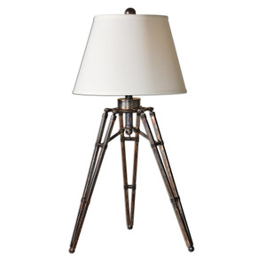 Tustin Rustic Tripod Table Lamp