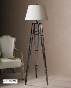Tustin Rustic Tripod Floor Lamp