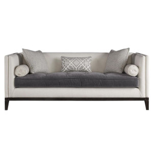Hartley Coastal Beige Tuxedo Back Sofa 83""