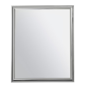 Coastal Zephyr Gray Mirror
