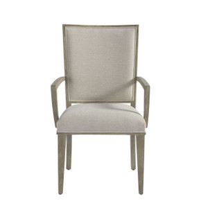 Coastal Zephyr Grey Dining Arm Chair