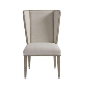 Coastal Zephyr Grey Wingback Host and Hostess Chair