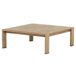 Monterey Natural Teak Square Outdoor Coffee Table 33""